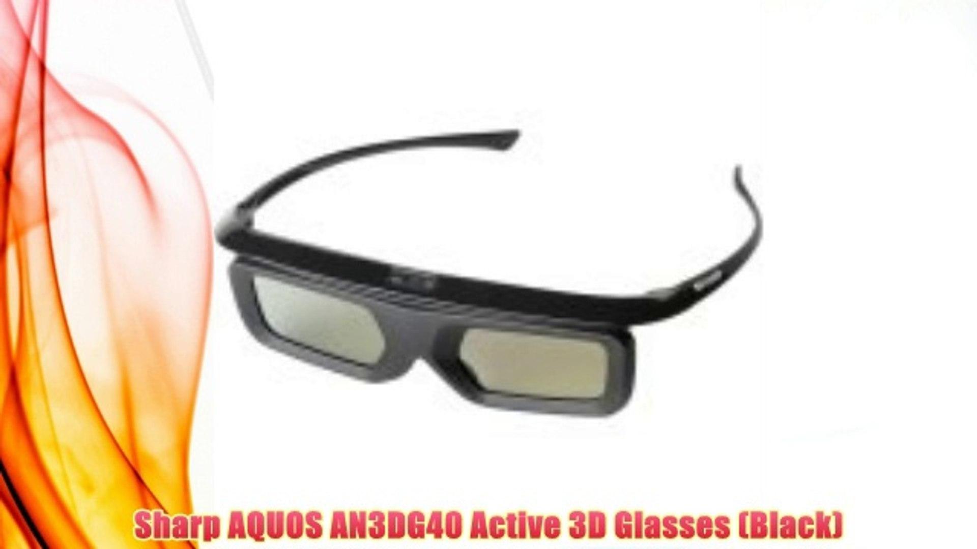 Best buy Sharp AQUOS AN3DG40 Active 3D Glasses (Black