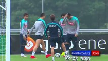 Coupe du monde Brésil 2014 : Cristiano Ronaldo danse la samba à l'entraînement (vidéo)