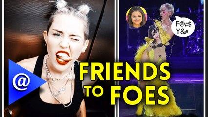 Miley Cyrus disses Selena Gomez during 'Bangerz' Concert.