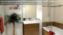 Vente de prestige - appartement - castanet tolosan (31320)  - 63m²