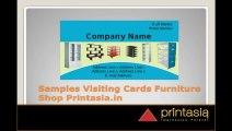 Furniture visiting cards |  Premium business card online design for furniture shop