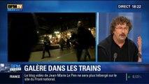 BFM Story: Grève des cheminots: galère dans les trains – 10/06