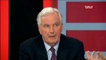 Selon Michel Barnier, Angela Merkel est soucieuse que le Royaume Uni reste dans l'Union Européenne
