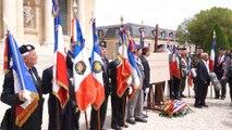 Hommage national aux dissidents - cérémonie militaire aux Invalides