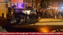 Tosya Hastane Kavşağı Trafik Kazası