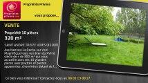 A vendre - propriété - SAINT ANDRE TREIZE VOIES (85260) - 10 pièces - 320m²