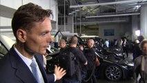 Übergabe an Erstkunden BMW i8 - Roland Krüger, Leiter BMW Group Region Deutschland