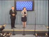 Poseł Anna Zalewska - konferencja prasowa