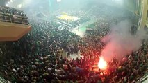 Unbelievable atmosphere created by supporters | Panathinaikos - Olympiakos 04-06-14