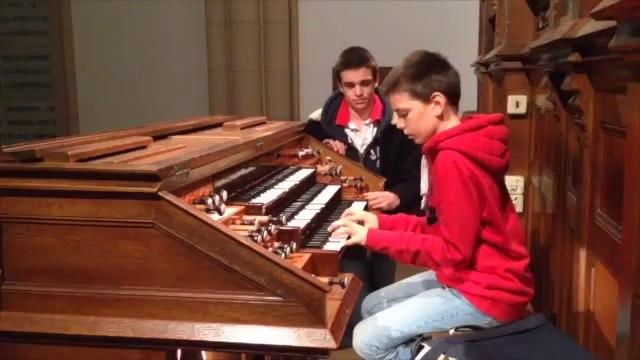 Hippolyte aux grandes orgues de l'Etoile