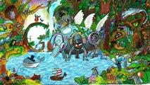 Concours de Doodle pour Google 2014 - Les gagnants : plein de gamins trop contents...