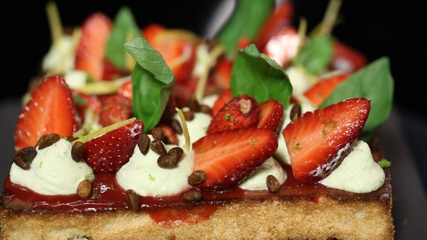 Le fraisier moderne de Christophe Michalak (#DPDC)