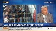 BFM Story: SNCF: Syndicats reçu ce soir par le secrétaire d'État aux Transports - 11/06