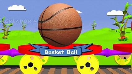 Balls train for kids