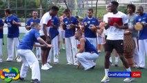 Welbeck capoeira   Brésil 2014