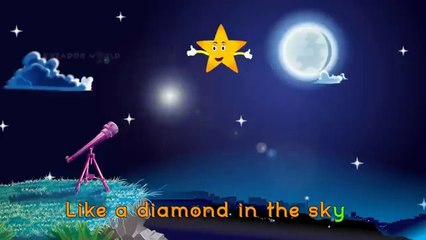 twinkle twinkle little star rhyme for kids