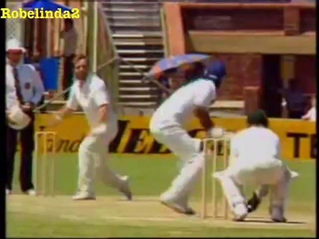 Javed Miandad 131 vs Australia 3rd test 1983 Adelaide - YouTube
