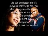 Rohff & Zaho - Fais doucement (Paroles / Lyrics)