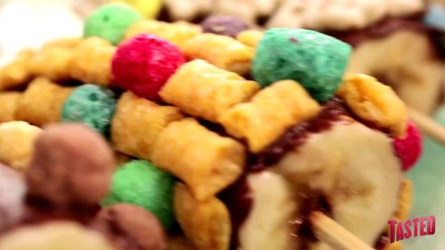 Breakfast Cereal Pops!