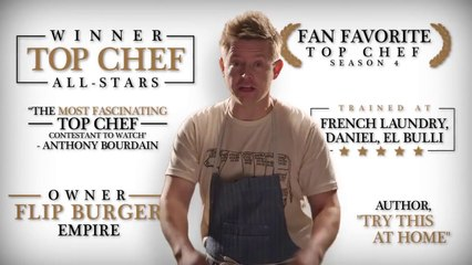 Burger Lab with Richard Blais!