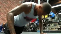 DeSean Jackson and Eric the Trainer workout legs
