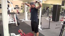 CSweat Weekly Challenge: Actor Brendan Fehr talks about getting wide in the gym