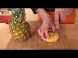 Comment découper un ananas en piston ? - 750 Grammes