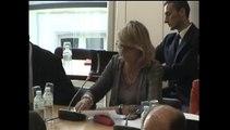 Audition de MM. Camille Grand, dir de la Fondation pour la recherche  stratégique, Etienne de Durand, Institut français des relations internationales - Mercredi 11 Juin 2014