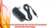 "Best buy AC Adapter For Schwinn A20 120 220 240 227P Recumbent Exercise Bike Power Supply,"""