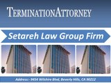 Setareh Law Group Wrongful Termination Lawyers