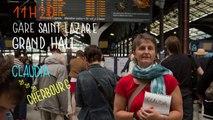 Claudia, Gare Saint-Lazare