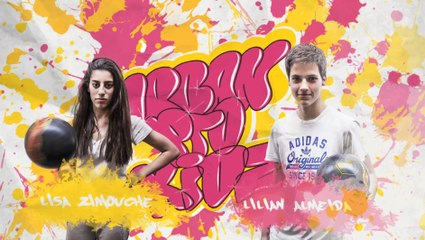 UPK - UrbanBall / Freestyle Football - Lisa Zimouche VS Lilian Almeida