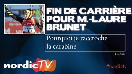 Marie-Laure Brunet met un terme à sa carrière