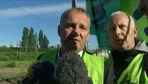 Grève à la SNCF : les cheminots descendent sur les voies à Lille