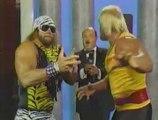 Hulk Hogan/Randy Savage Promo w/ Mean Gene (Saturday Night's Main Event) (10.03.1987)