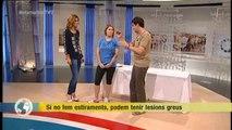 TV3 - Els Matins - Estiraments per evitar lesions