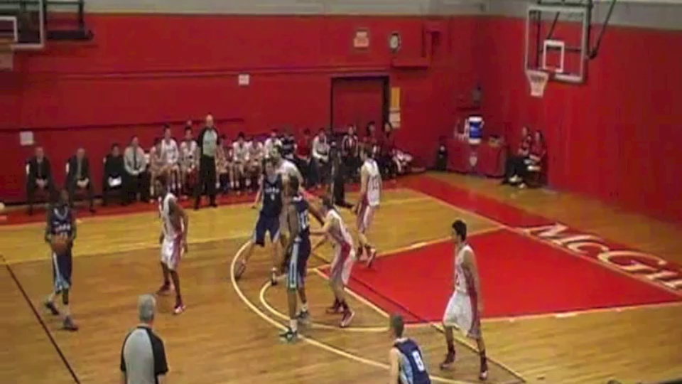 Alan PIVOVAR / UQÀM Basketball / Highlights