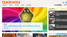 The Onion Launches Buzzfeed-like Parody Site 'ClickHole'