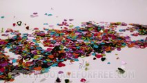 Free Slow Motion Stock Footage HD Love Confetti Blowing Away - Download Animal Stock Photos