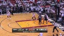 Wade To LeBron   Spurs vs Heat   Game 4   June 12, 2014   NBA Finals 2014