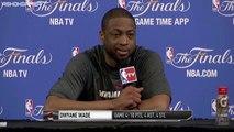 LeBron James & Dwyane Wade Postgame Interview   Game 4   June 12, 2014   NBA Finals 2014