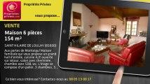 A vendre - maison - SAINT HILAIRE DE LOULAY (85600) - 6 pièces - 154m²