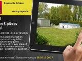 A vendre - maison - SAINT HILAIRE DE LOULAY (85600) - 5 pièces - 131m²