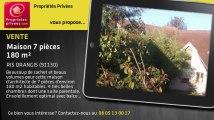 A vendre - maison - RIS ORANGIS (91130) - 7 pièces - 180m²