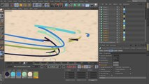 2D Styled 3D Motion Graphics in CINEMA 4D and After Effects - 07. Fleshing out the sweep