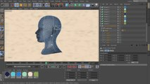 2D Styled 3D Motion Graphics in CINEMA 4D and After Effects - 08. Creating the splines for the head