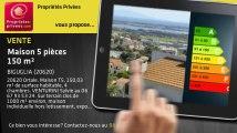 A vendre - maison - BIGUGLIA (20620) - 5 pièces - 150m²
