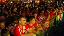 Mondial: les Croates déçus après la défaite contre le Brésil