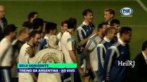 Coupe du monde Brésil 2014 : Un sosie de Ronaldinho fait exploser de rire Lionel Messi