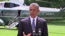 Obama's Iraq speech in less than three minutes